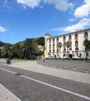 Piazza Cavour a Salerno