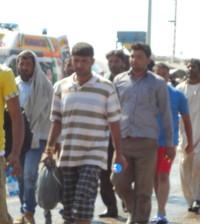 Migranti sbarcati a Salerno il 19 luglio scorso