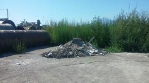 rifiuti via calvanese scafati 1