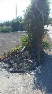 rifiuti via calvanese scafati 2