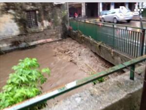 Alveo comune nocerino nei pressi del ponte di via Astuti (giù al Borgo)