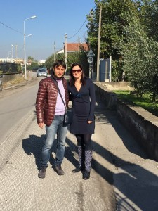 L'assessore Raffaele Sicignano con Teresa Formisano