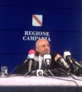 Conferenza stampa De Luca