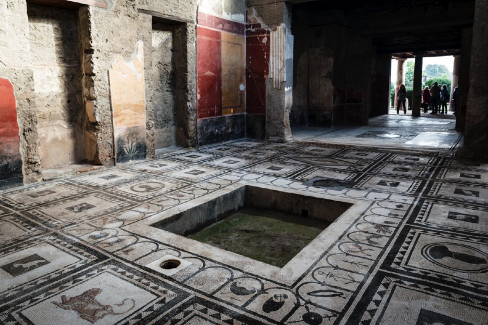 Pavimento mosaico cronache salerno for Mosaico pavimento