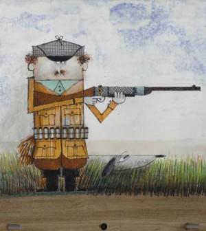 pino-pascali-il-cacciatore