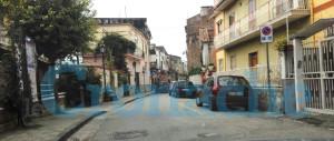 Via Pietro Fiminai a Castel San Giorgio, questa mattina