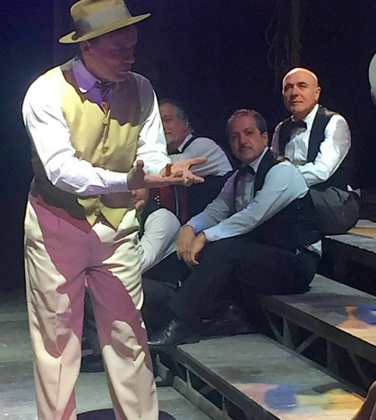 Massimo Ranieri con i musicsiti