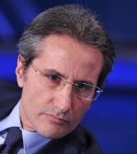 03/10/2012 Roma,trasmissione Porta a porta in onda su Rai Uno, nella foto il governatore della Campania Stefano Caldoro