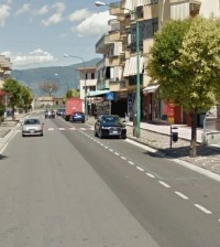 1-via de Gasperi luogo incidente mortale