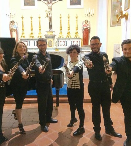 masterclass clarinetti associazione Zefiro Camerota