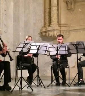 8 giugno quartetto clarinetti