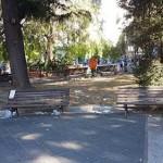 Piazza San Francesco ricettacolo di rifiuti