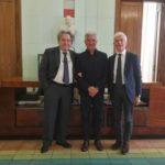 Salerno: Sindaco incontra Commissario della Fondazione Ravello