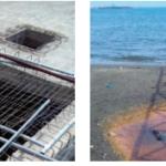 Salerno, spiaggia di Santa Teresa inquinata da un cantiere