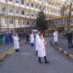 Vigili del fuoco, omaggio ai medici del Ruggi