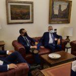 Il vice presidente della Camera dei Deputati  De Luca  ha parlato con il presidente Prete